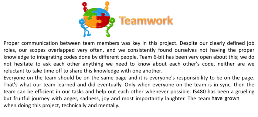 self reflection of team What is it allowing and supporting a reflecting culture within a project or  organisation is a vital part of good project management self-assessment is a  method.